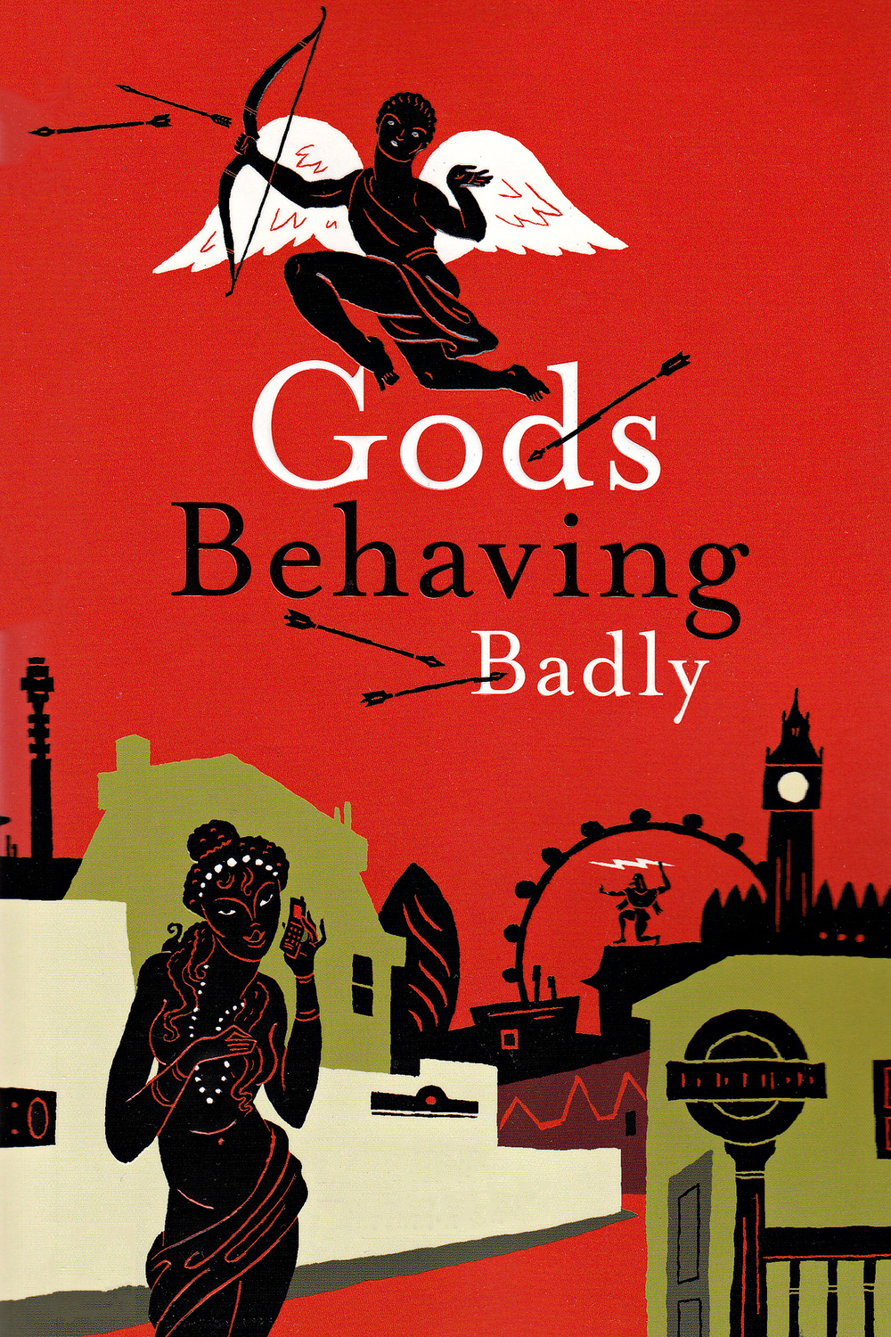 affiche du film Gods Behaving Badly