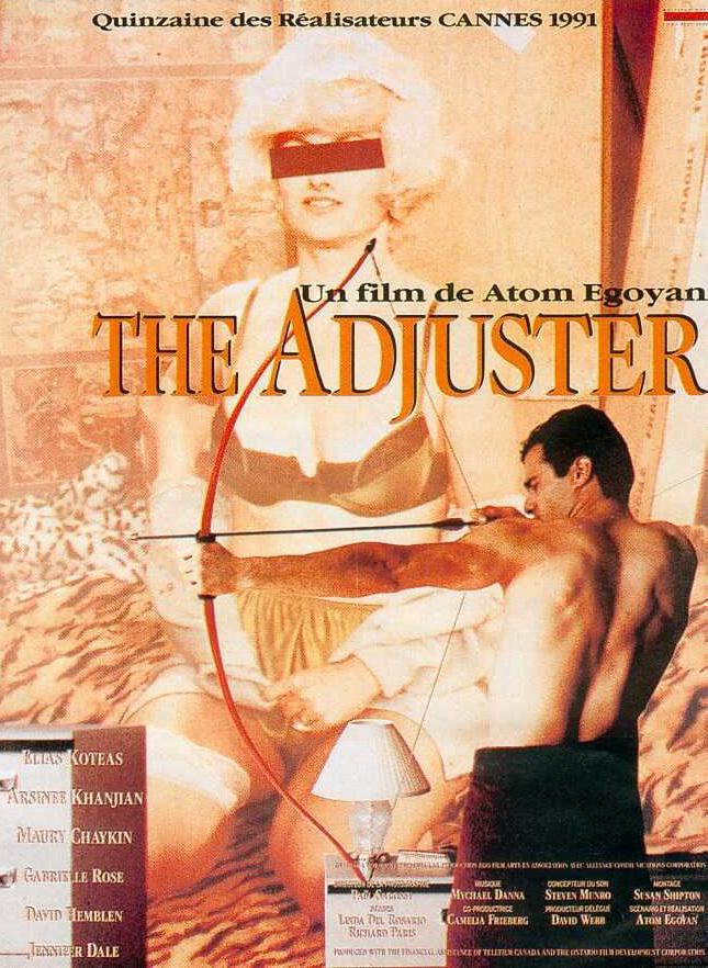 affiche du film The Adjuster