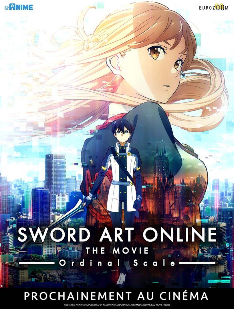 affiche du film Sword Art Online, The Movie: Ordinal Scale