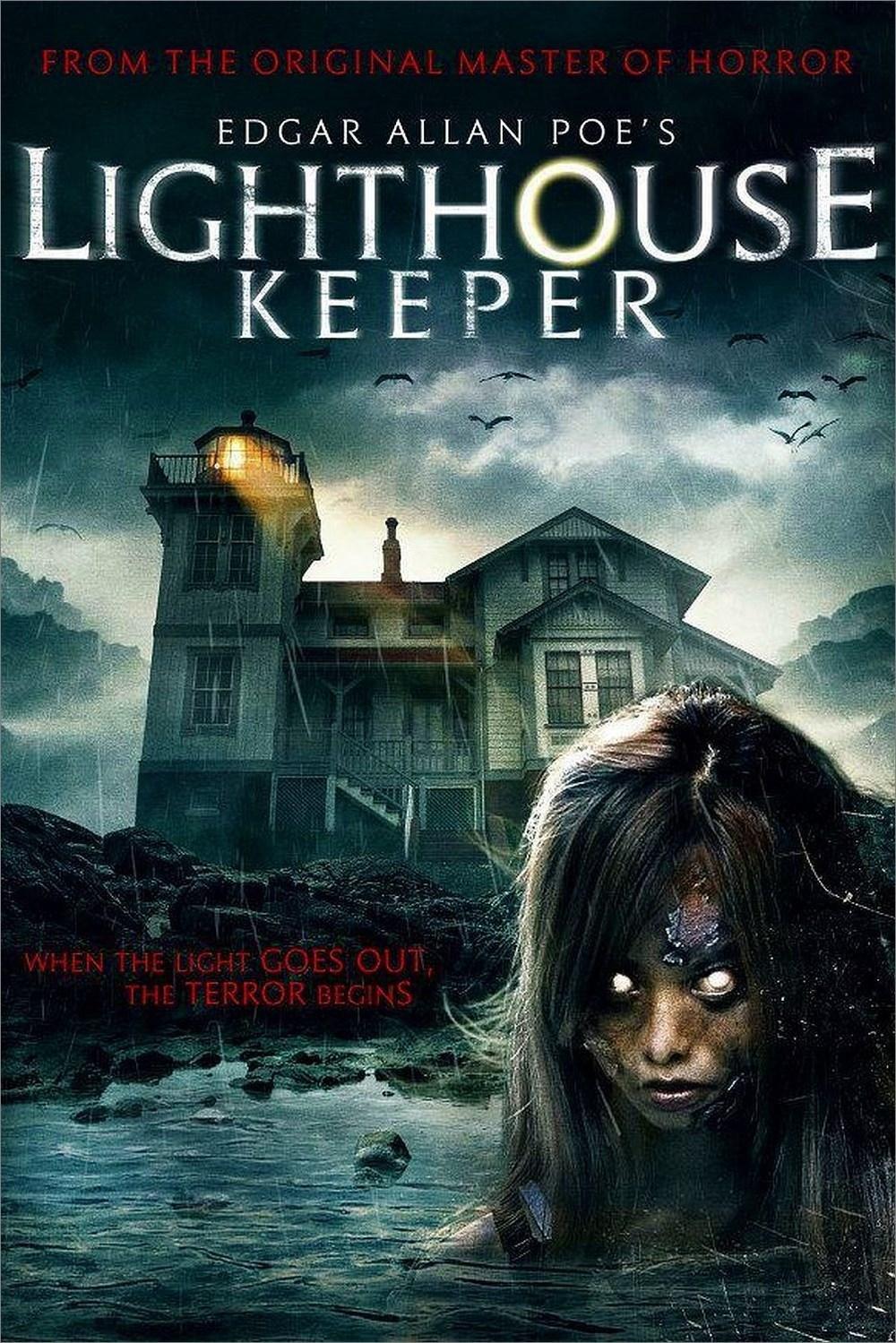 affiche du film Edgar Allan Poe's Lighthouse Keeper