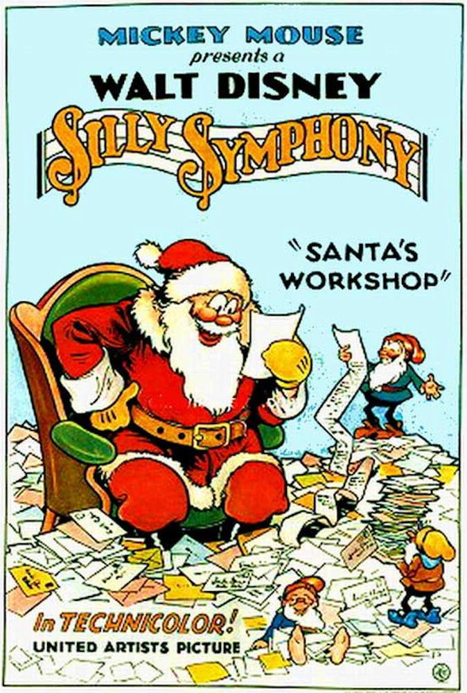 affiche du film L'Atelier du Père Noël