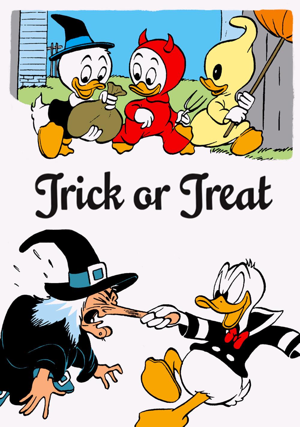affiche du film Donald et la Sorcière