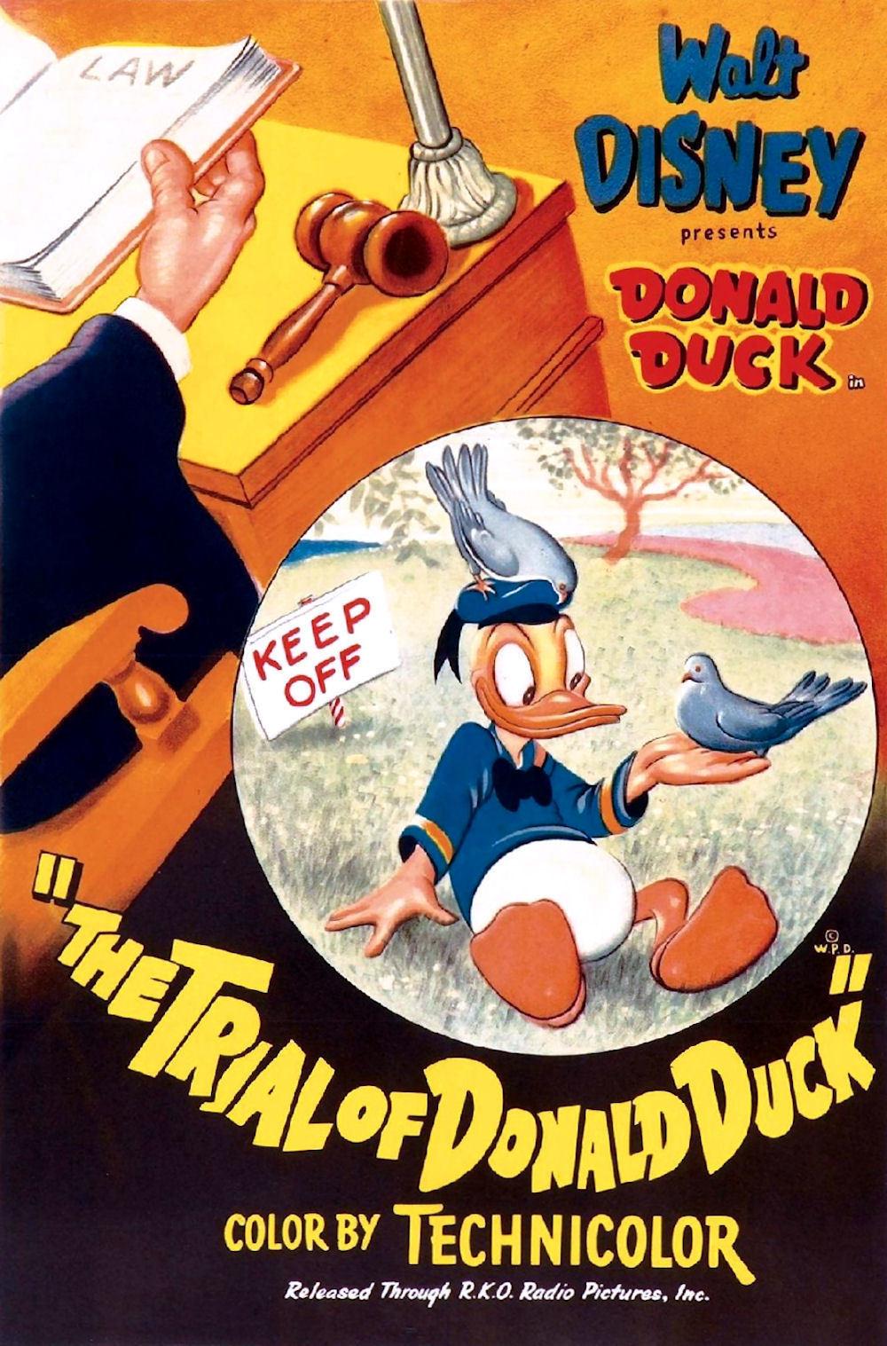 affiche du film Le Procès de Donald