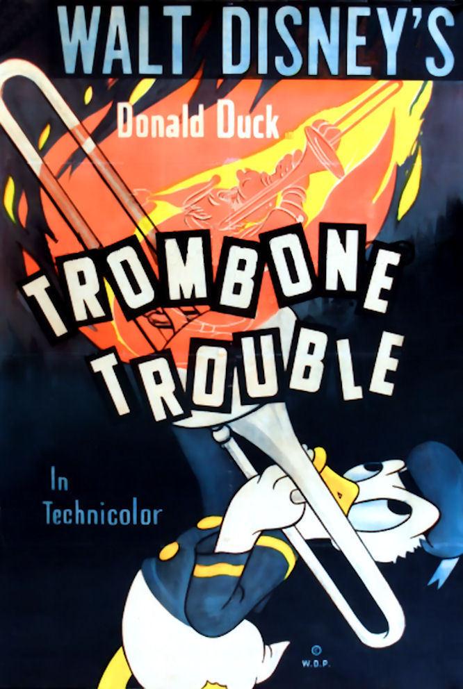 affiche du film Trombone en Coulisse