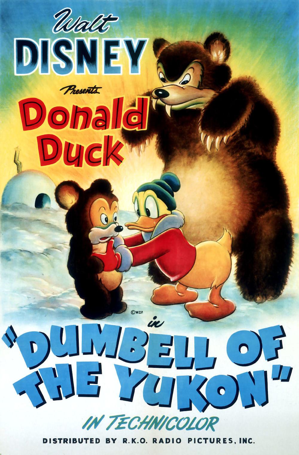 affiche du film Donald dans le Grand Nord