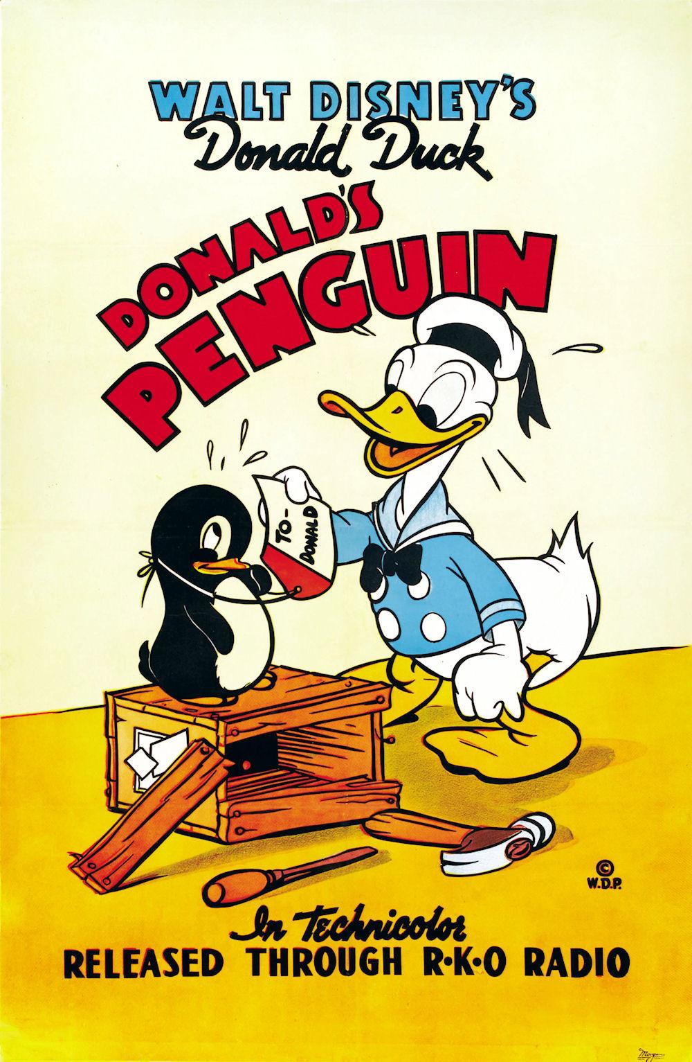 affiche du film Le Pingouin de Donald