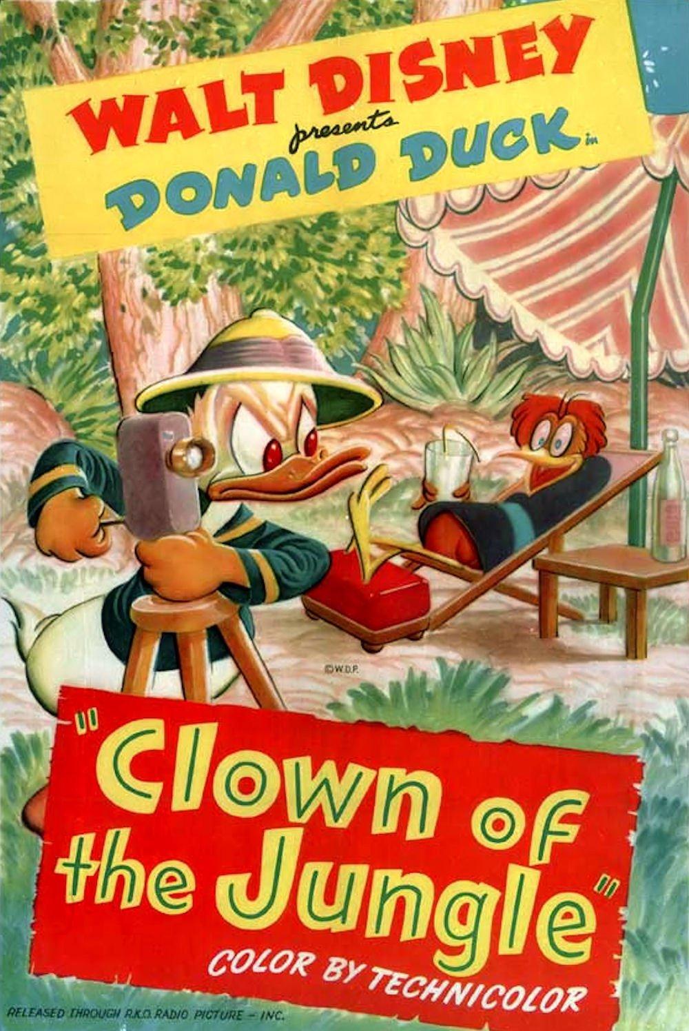 affiche du film Le Clown de la Jungle