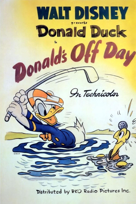 affiche du film Donald Est de Sortie