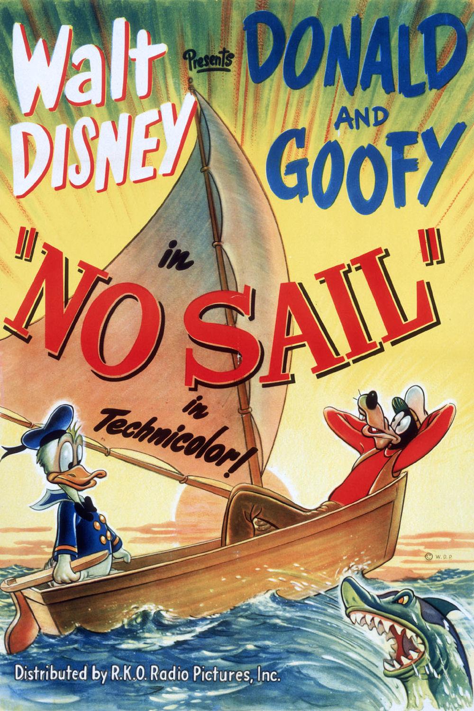 affiche du film Donald et Dingo Marins
