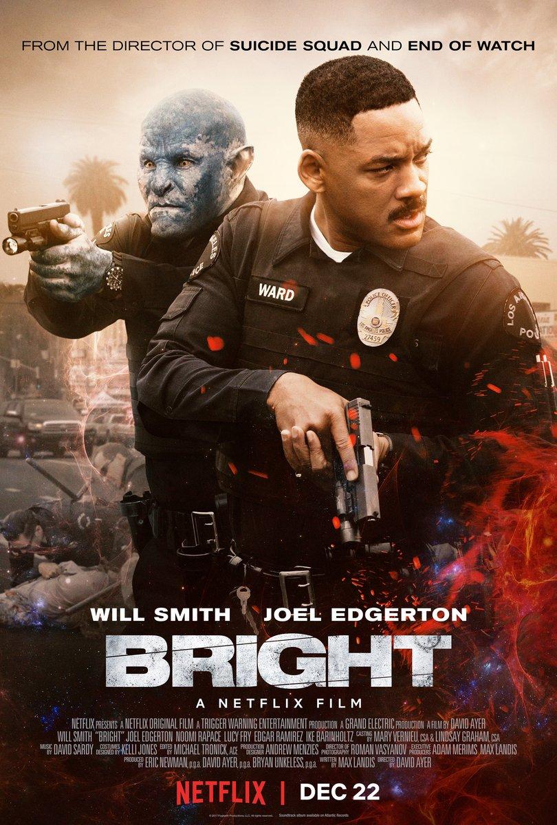 affiche du film Bright