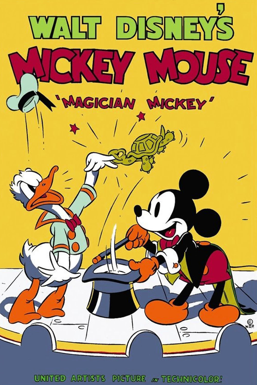 affiche du film Mickey Magicien