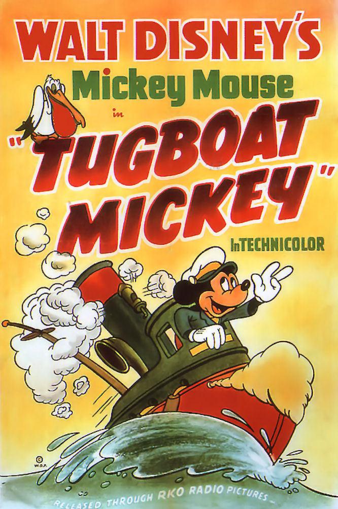 affiche du film Le Remorqueur de Mickey