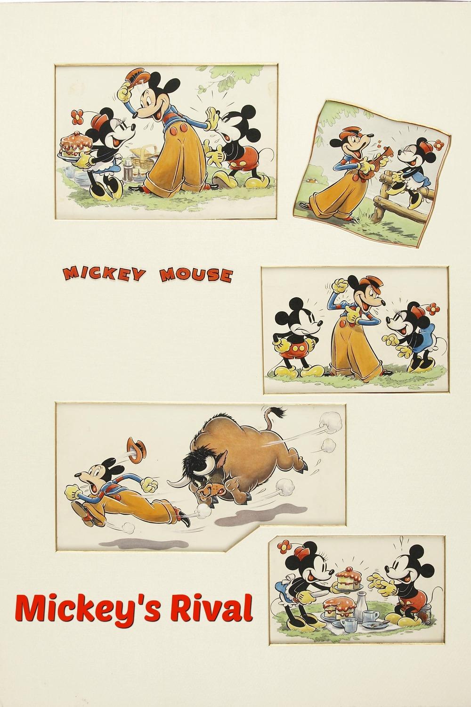 affiche du film Le Rival de Mickey