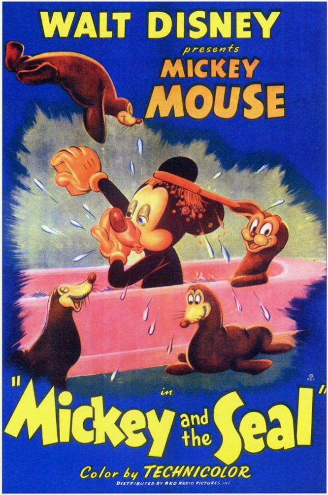affiche du film Mickey et le Phoque