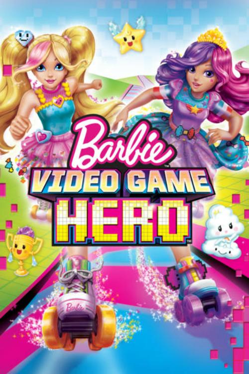 affiche du film Barbie : Héroïne de jeu vidéo