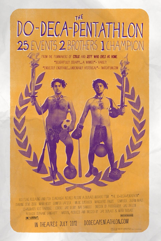 affiche du film The Do-Deca-Pentathlon