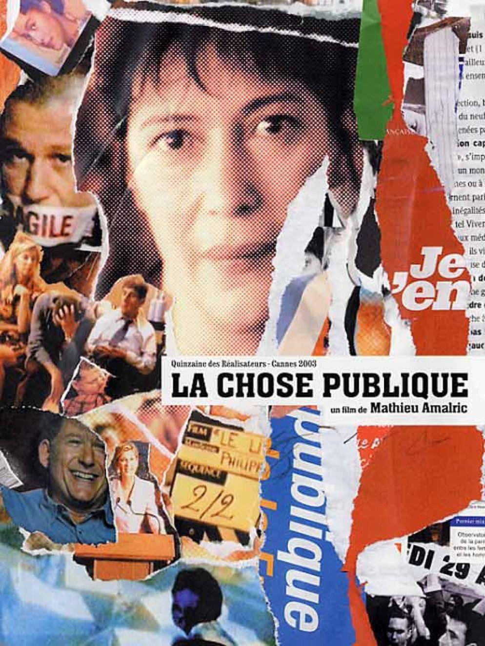 affiche du film La Chose publique