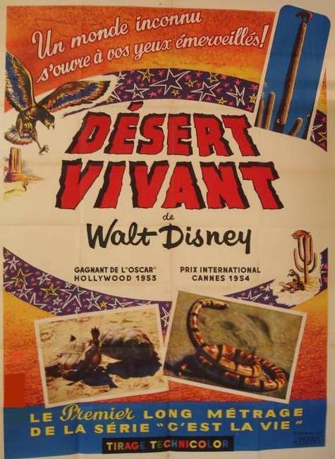 affiche du film Le Désert Vivant