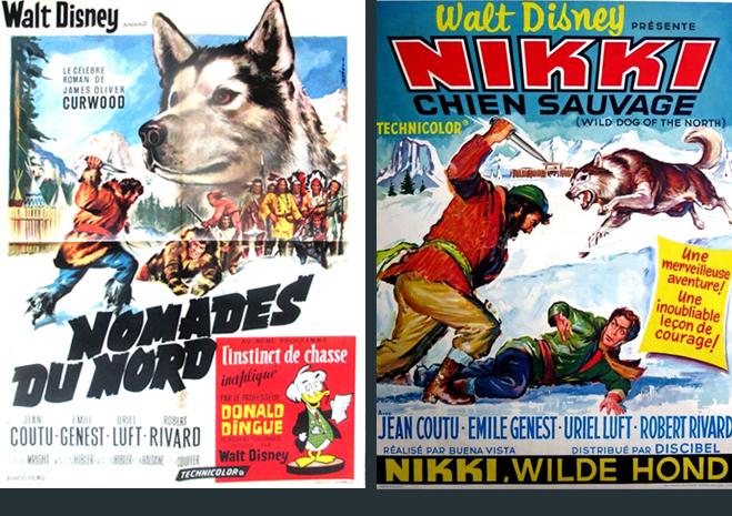 affiche du film Nomades du Nord