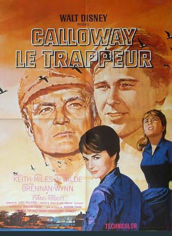 affiche du film Calloway, le trappeur