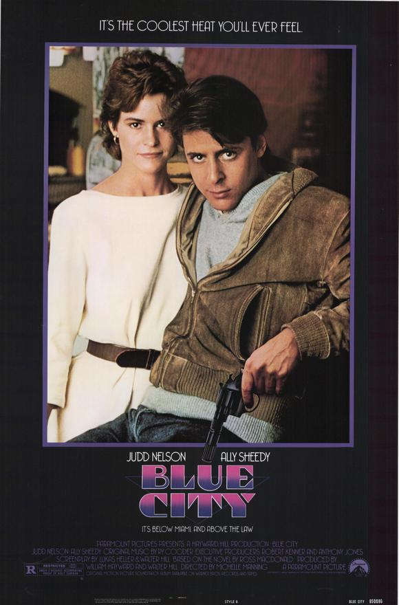 affiche du film Blue City