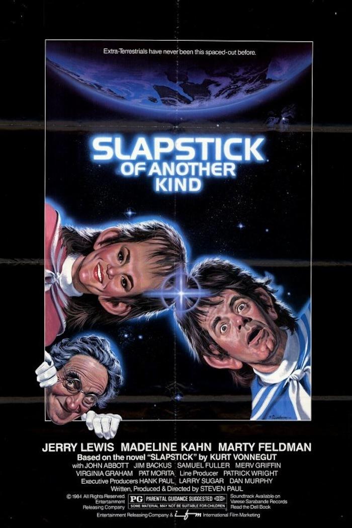 affiche du film Slapstick (Of Another Kind)