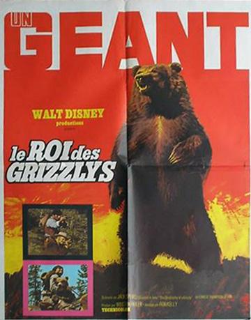affiche du film Le Roi des grizzlis