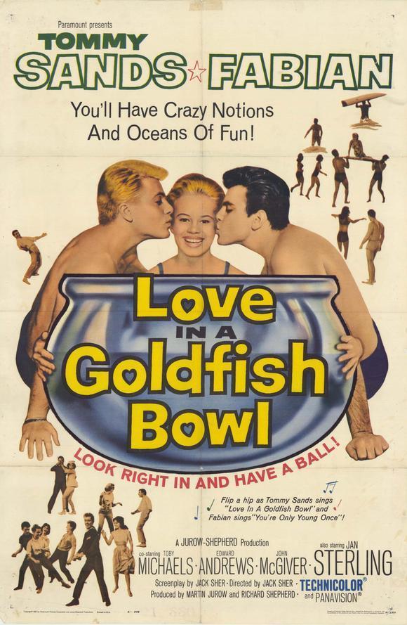 affiche du film Love in a Goldfish Bowl