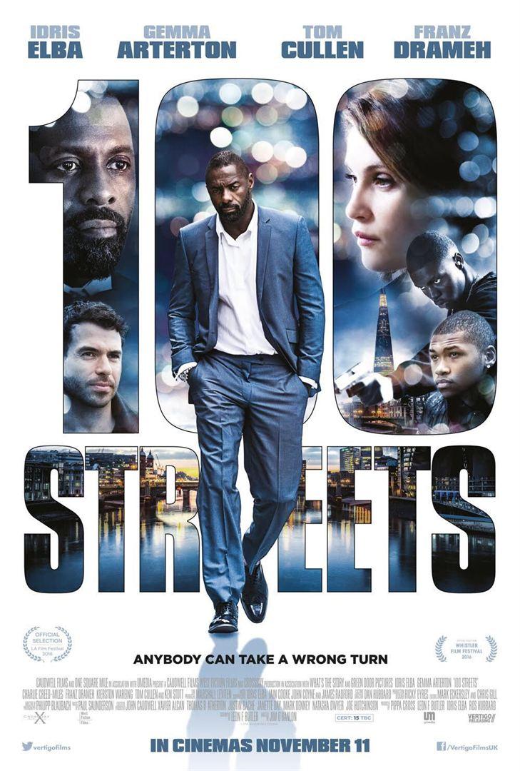 affiche du film 100 Streets