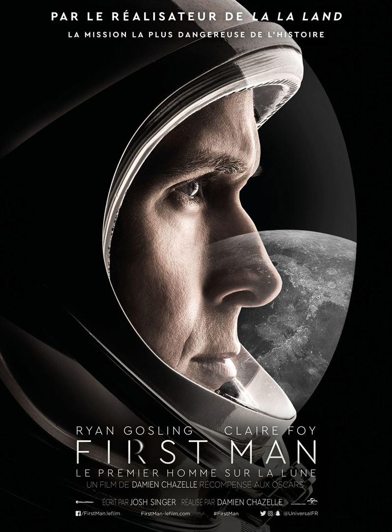 affiche du film First Man : Le premier homme sur la lune