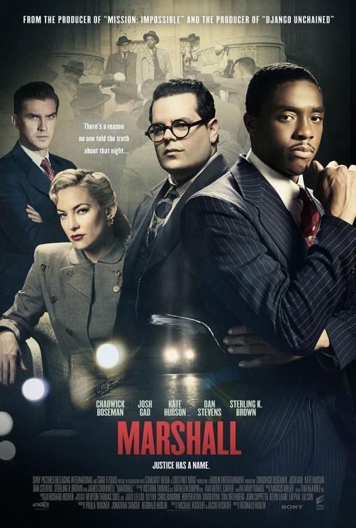 affiche du film Marshall : la vérité sur l'affaire Spell
