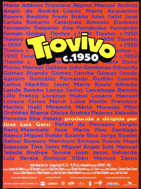 affiche du film Tiovivo c. 1950