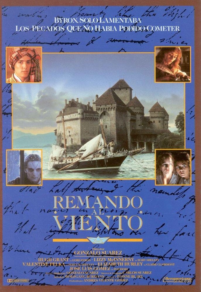 affiche du film Remando al viento