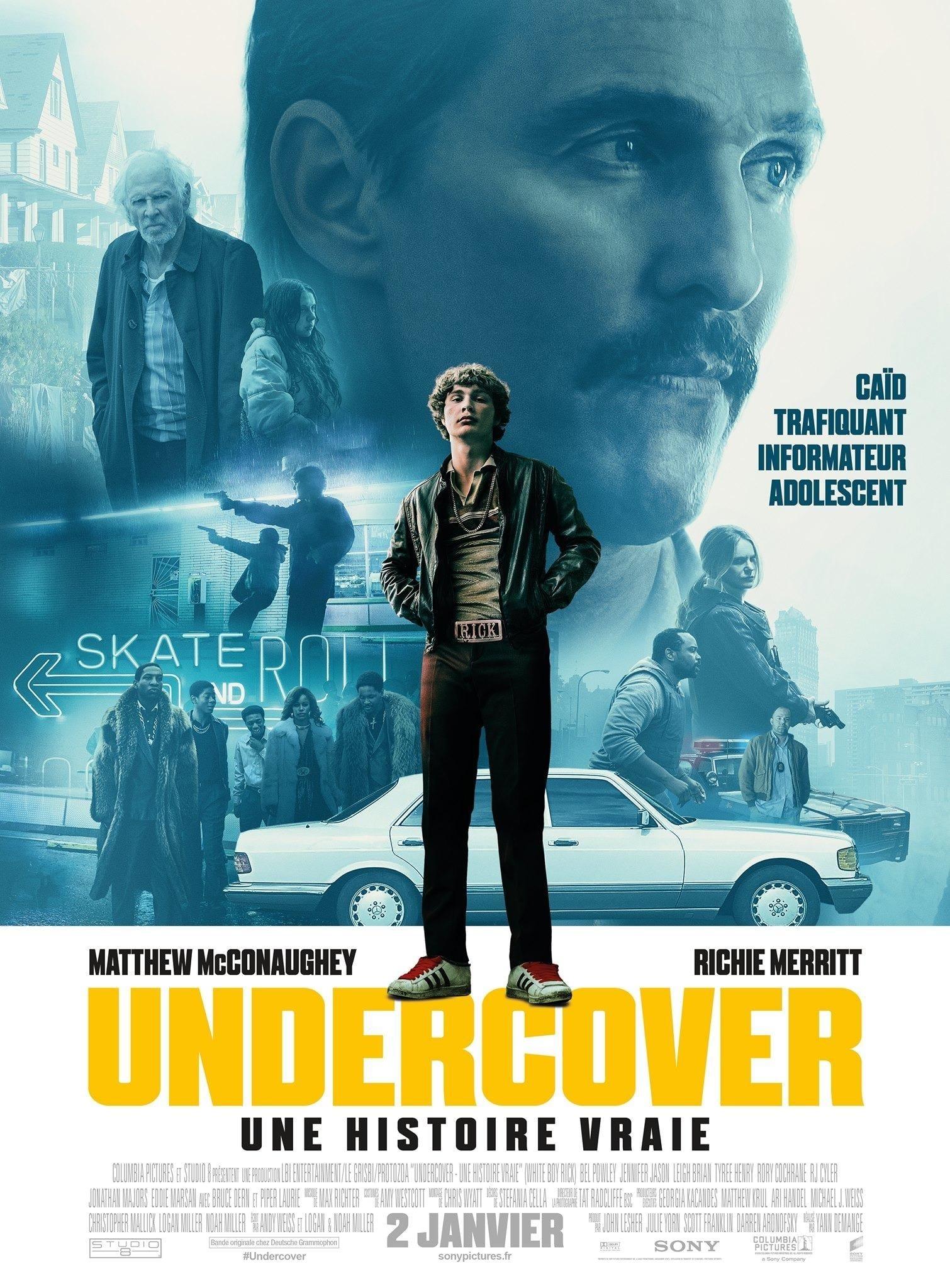 affiche du film Undercover : Une histoire vraie