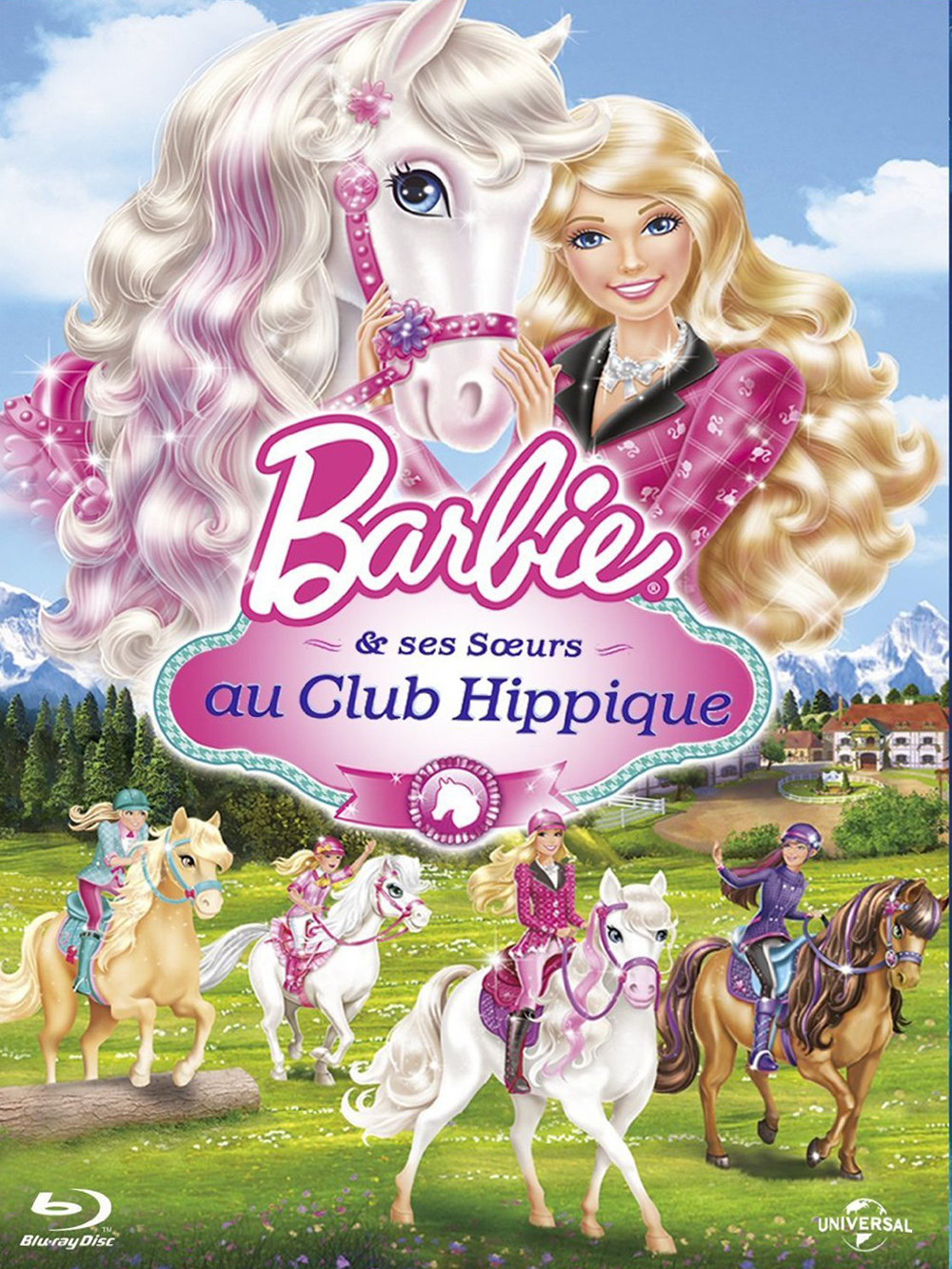 Barbie et ses s urs au club hippique seriebox - Barbie club hippique ...