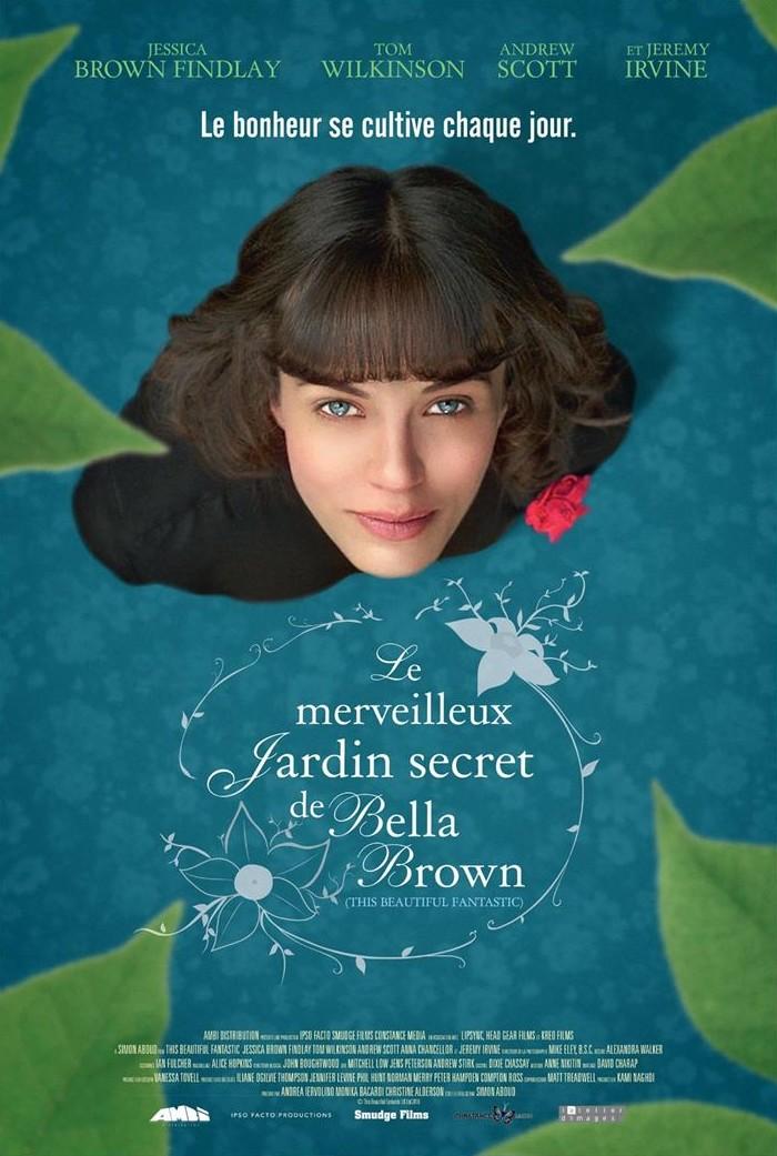 affiche du film Le Merveilleux jardin secret de Bella Brown