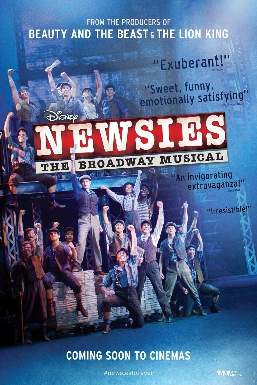 affiche du film Disney's Newsies: The Broadway Musical