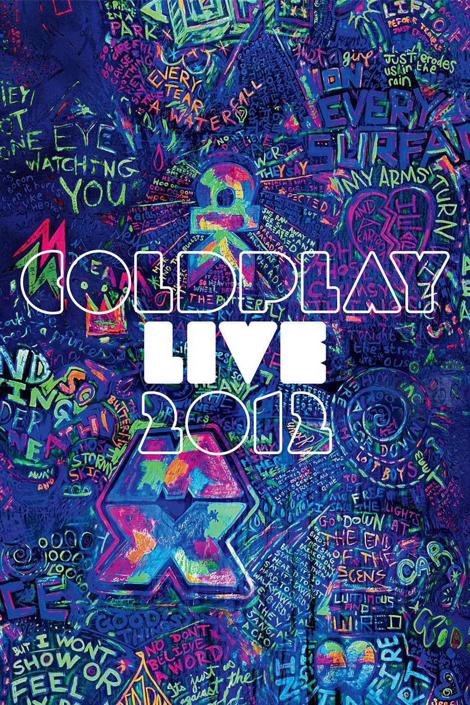 affiche du film Coldplay: Live 2012