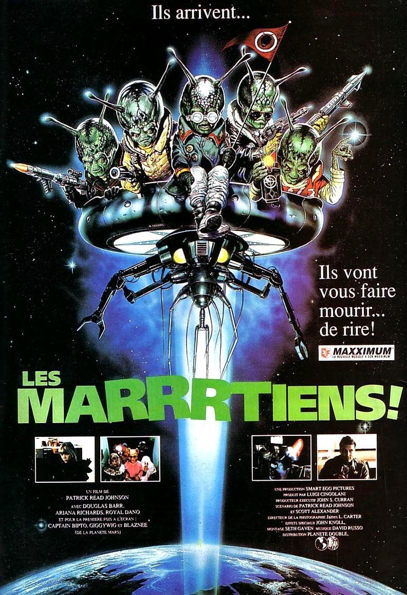 affiche du film Les Marrrtiens