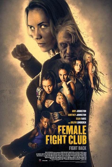affiche du film Female Fight Club