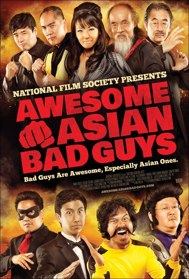 affiche du film Awesome Asian Bad Guys