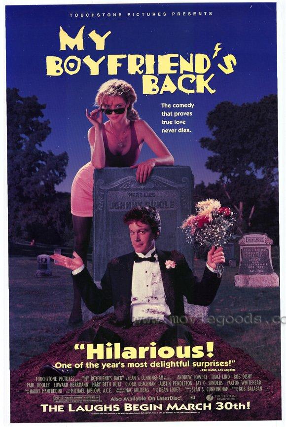 affiche du film My Boyfriend's Back