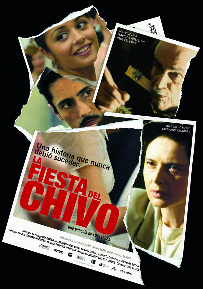 affiche du film La Fiesta del Chivo