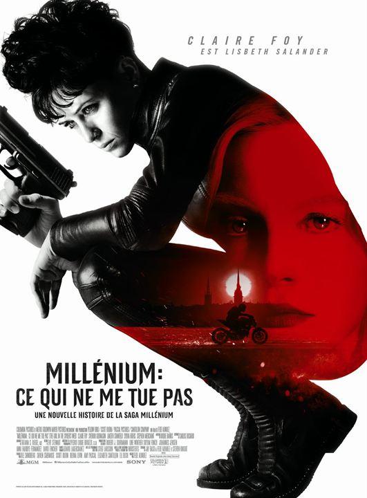 affiche du film Millénium : Ce qui ne me tue pas