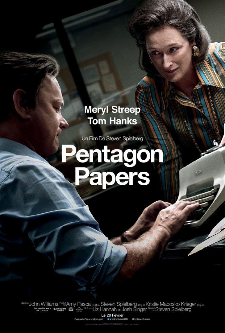 affiche du film Pentagon Papers