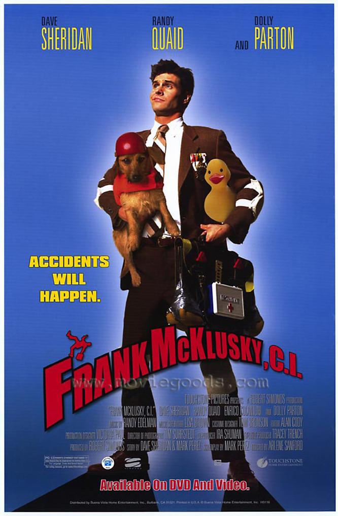 affiche du film Frank McKlusky, C.I.