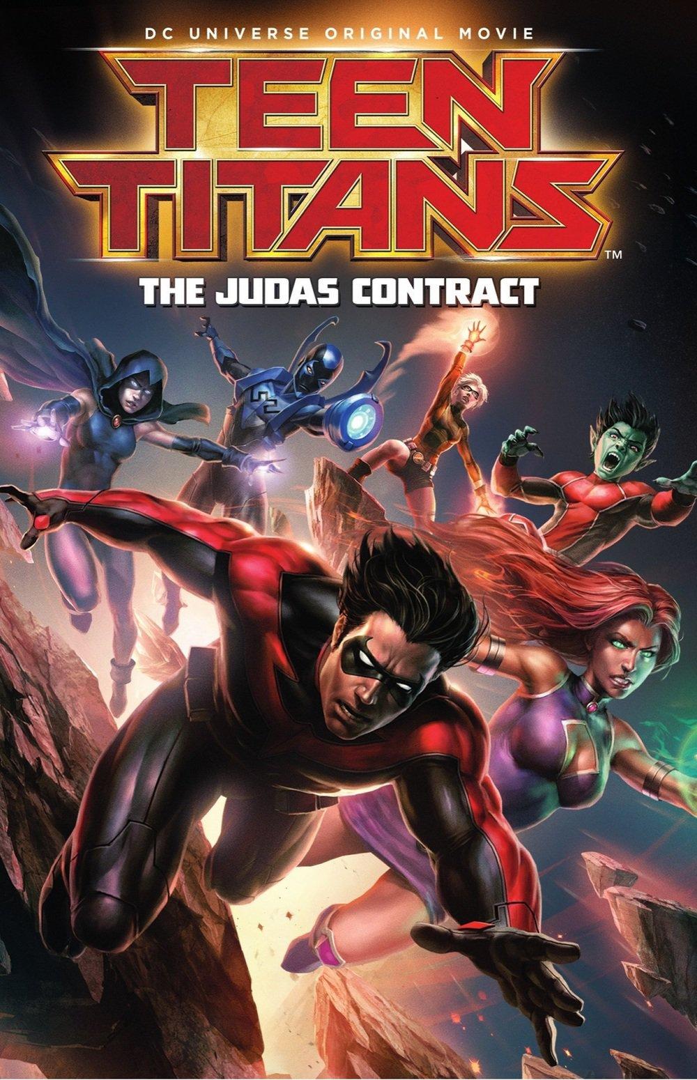 affiche du film Teen Titans: The Judas Contract