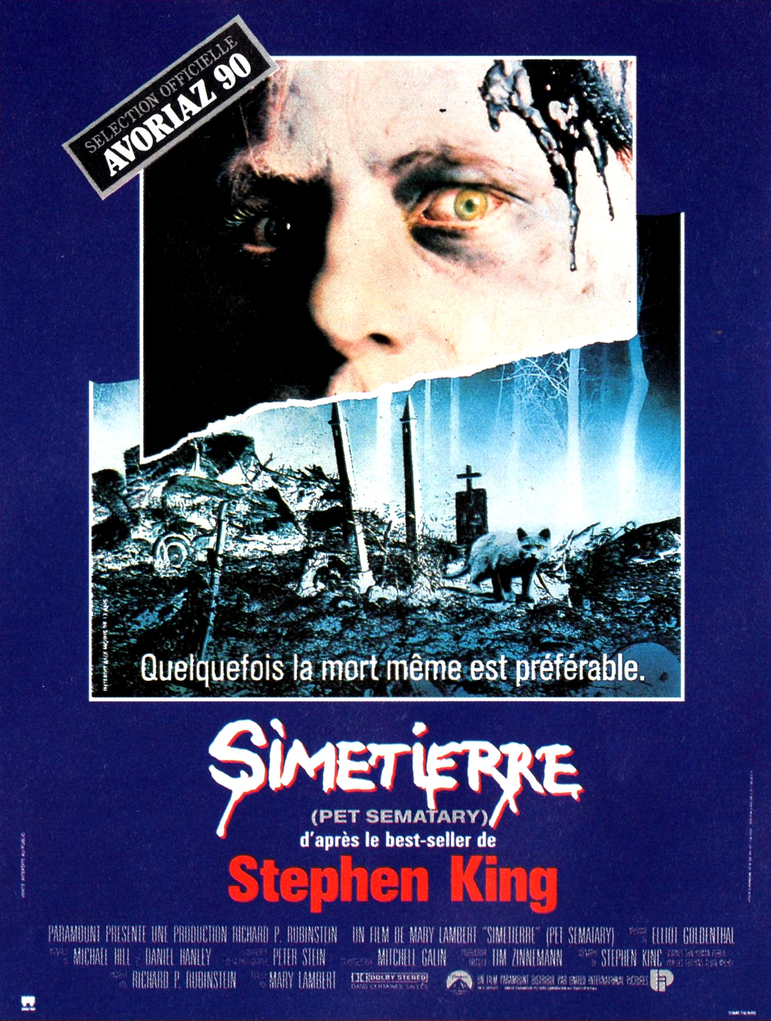 affiche du film Simetierre