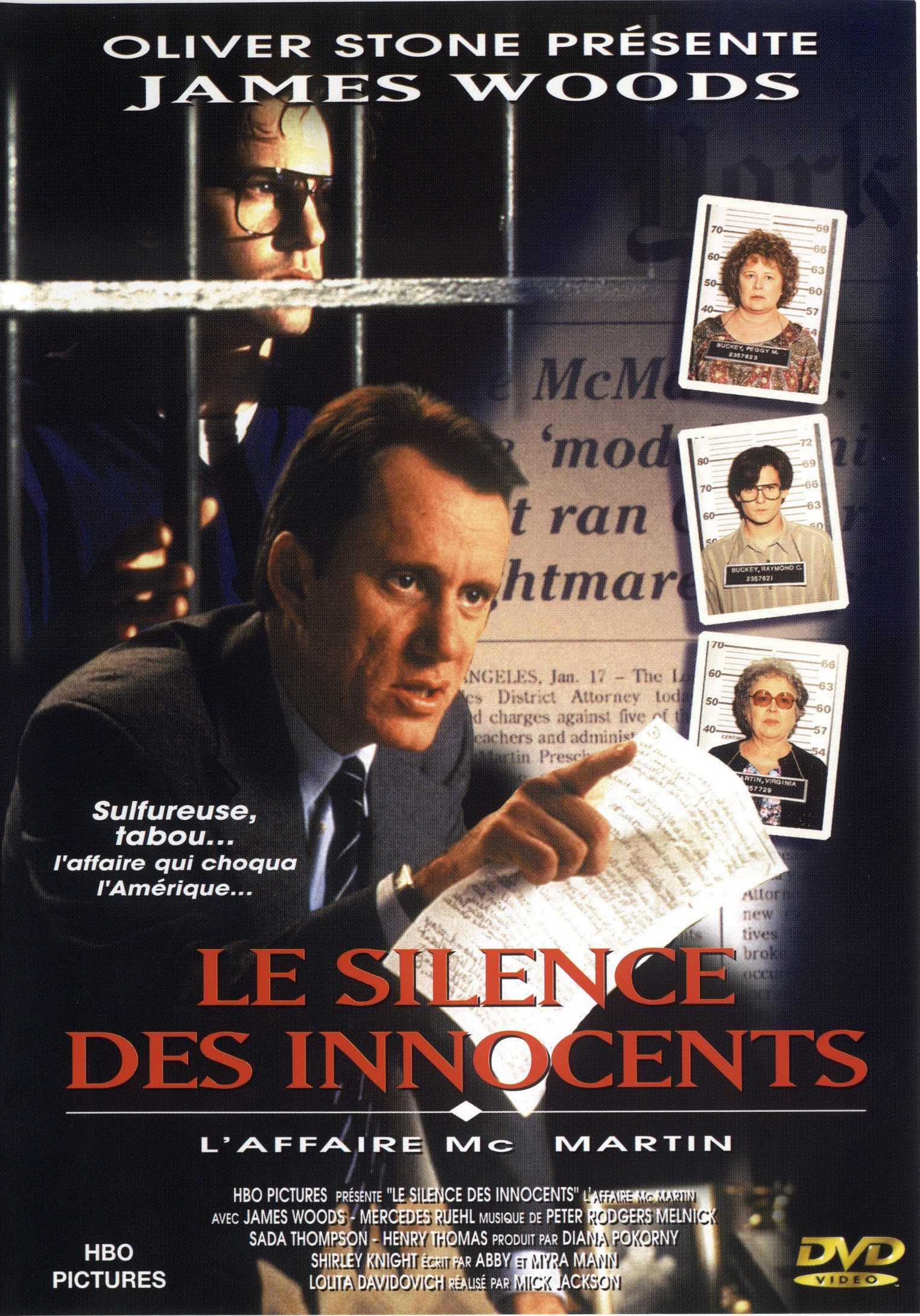 affiche du film Le silence des innocents (TV)