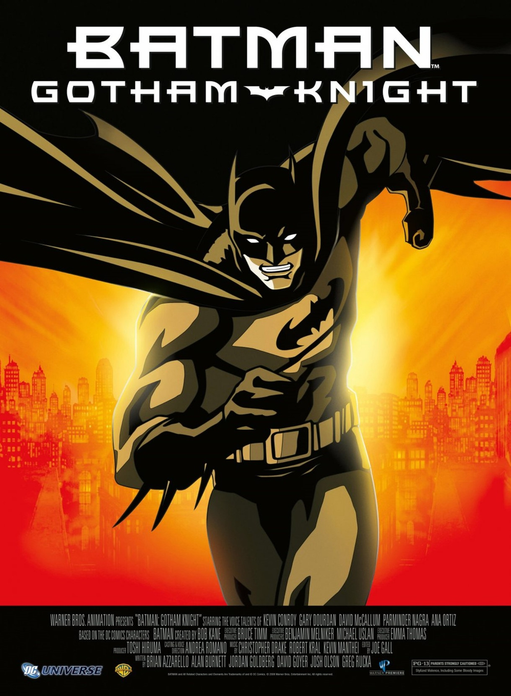 affiche du film Batman: Gotham Knight